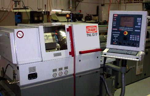 TRAUB TNL 12/7 Sliding Head CNC