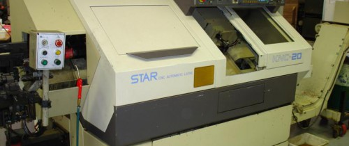 STAR KNC 20 SLIDING HEAD CNC