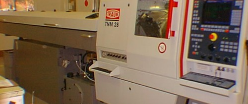 TRAUB TNM 28 FIXED HEAD CNC