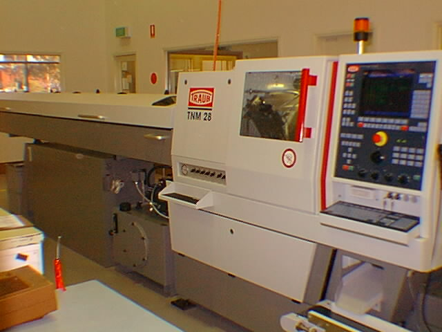 TRAUB TNM 28 Fixed Head CNC